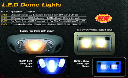 Good Recon LED Interior Dome Lights For 2002 08 Dodge 1500 U0026 2003 09 Cummins Is  Available To Buy In Increments Of 1. Details. Wanna Light Up Your Interior?