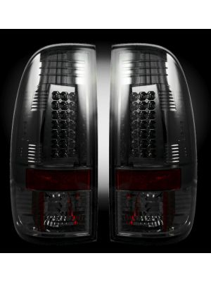 Recon LED Tail Lights for 1999-07 Ford Superduty & 1997-03 Straight Side F150