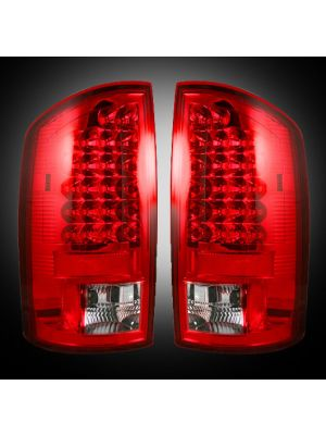 Recon LED Tail Lights for 2007-2009 Dodge RAM