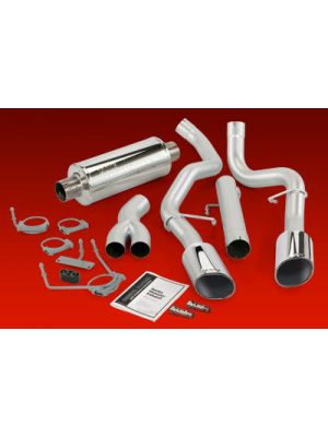 Banks Monster Diesel Duals Turbo Back System for 2003-04 Cummins