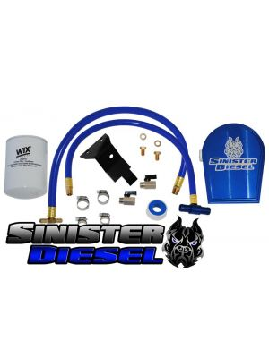Sinister Diesel Coolant Filtration Kit for 6.0L Powerstroke