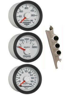 Auto Meter Triple Pillar Gauge Combo for 2003-08 Dodge